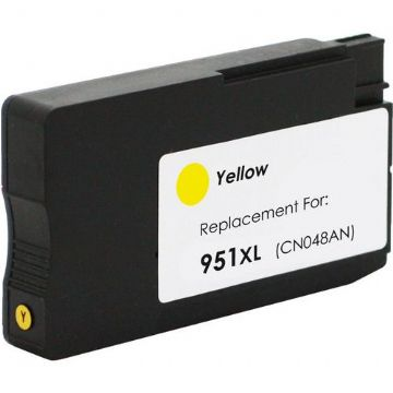 Refurbished High Capacity Yellow HP 951XL Printer Cartridge - (HP CN048AE)